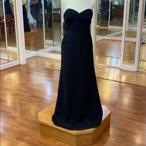 ✔️ Black bridesmaid dress
